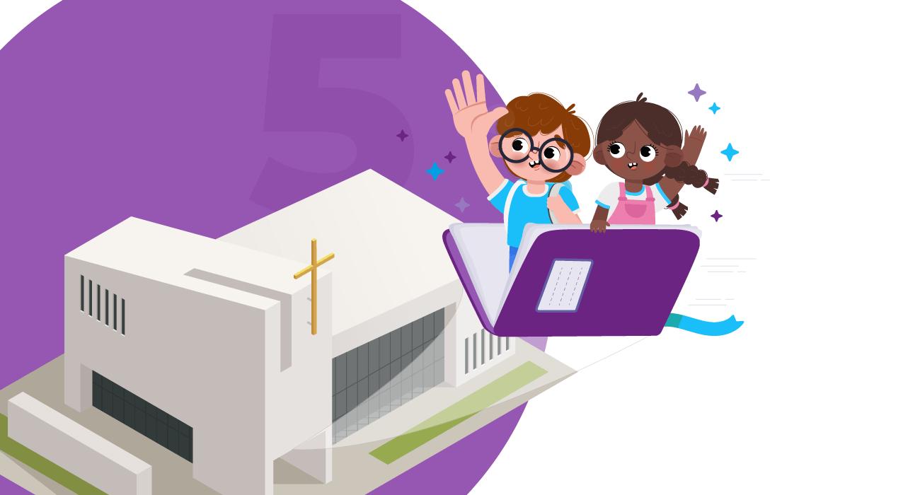 5 DICAS PARA MINISTÉRIO INFANTIL